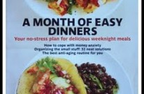 A Month of Easy Dinners at Crafting Crazy