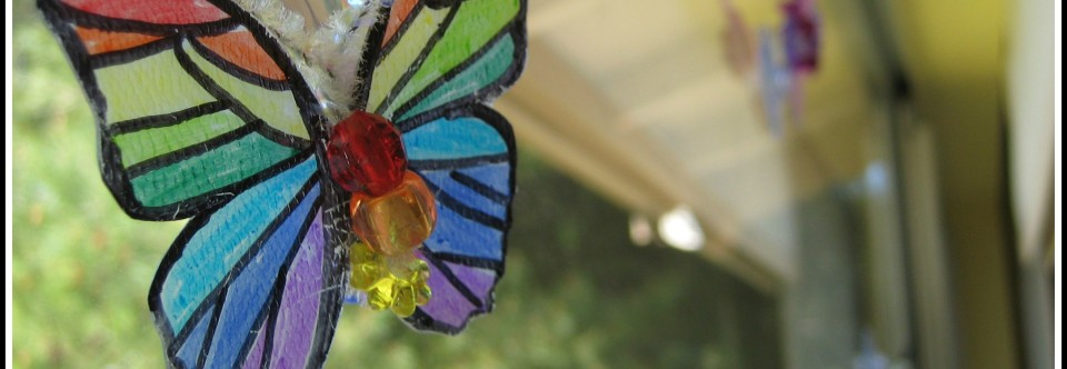 Pinterest Projects: Butterfly Window