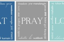 Eat, Pray, Love {Crafting Crazy Style}